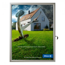 "36""w x 48""h Poster Size Single Lock, Weatherproof"