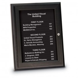 "18 x 24"" Magnetic Strip Directory Board"
