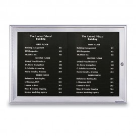 "36 x 24"" Magnetic Strip Directory Board"
