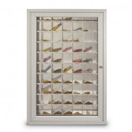 "23 W x 35"" H x 3 1/4"" D 70 Pocket Key Cabinet"