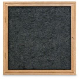 "36 x 36"" Wood Enclosed Easy Tack Board"