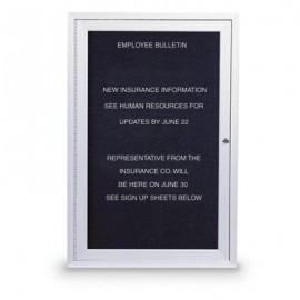 """18 x 24"""" Single Door Standard Outdoor Enclosed Letterboard"""