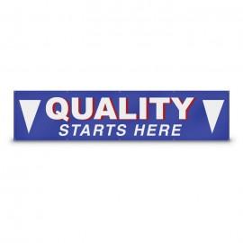 6' x 3' Custom Banner