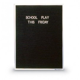 "18 x 24"" x 3/4"" Aluminum Framed Letterboard"
