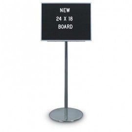 "24 x 18"" Non-Adjustable Aluminum Letterboard"