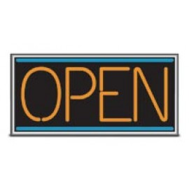 "14 x 22"" Neo-Lite Open Lighted Sign"
