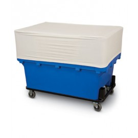 Half Cover Plastic Basket Truck