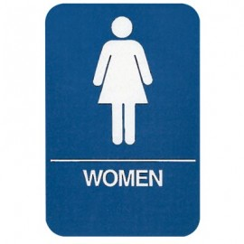 Women Restroom ADA Compliant Sign