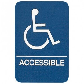 Wheelchair Accesible ADA Compliant Sign