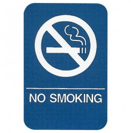 No Smoking ADA Compliant Sign