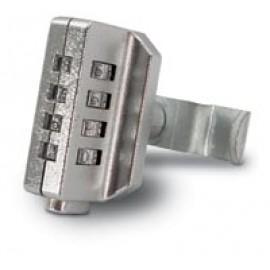 4 Dial Combination Lock