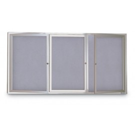 "72 x 36"" Indoor Enclosed Easy Tack Board"