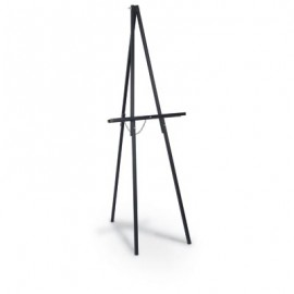 Black Finish Economy Wood Easel