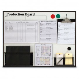 "36 x 28"" Production Board with Clips"