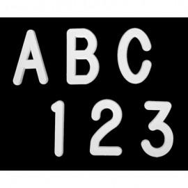 2 Helvetica Letter Sprue Sets