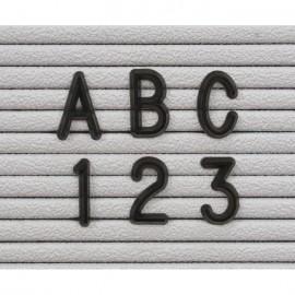 3/4 Black Helvetica Letter Sprue Sets