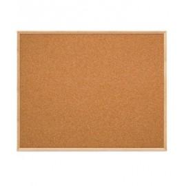 "60 x 48"" Open Faced Decorative Framed Corkboards"