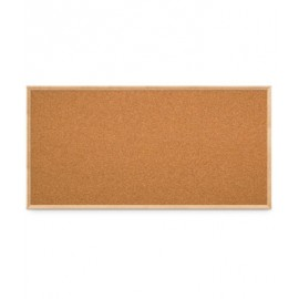 "72 x 36"" Open Faced Decorative Framed Corkboards"