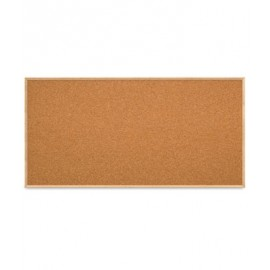"96 x 48"" Open Faced Decorative Framed Corkboards"