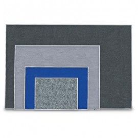 """24 x 18"""" Aluminum Framed Easy Tack Board"""
