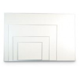 "12 x 36"" Aluminum Framed Dry/Wet Erase Board"