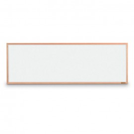 "12 x 36"" Oak Framed Dry/Wet Erase Board"