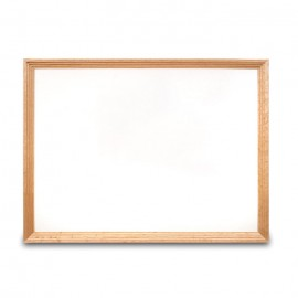 "24 x 18"" Decorative Wood Framed Dry Erase Board"