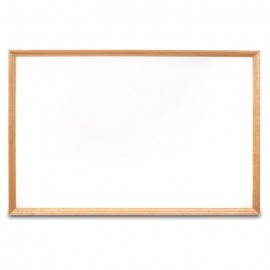 "36 x 24"" Decorative Wood Framed Dry Erase Board"