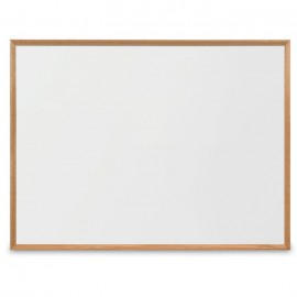 "48 x 36"" Decorative Wood Framed Dry Erase Board"
