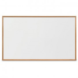 "60 x 36"" Decorative Wood Framed Dry Erase Board"