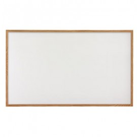 "72 x 48"" Hardwood Framed Porcelain On Steel Dry/Wet Erase Board"