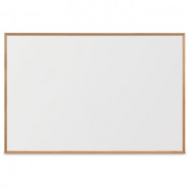 "72 x 48"" x 3/4"" Decorative Hardwood Framed Porcelain On Steel Dry Erase Boards"