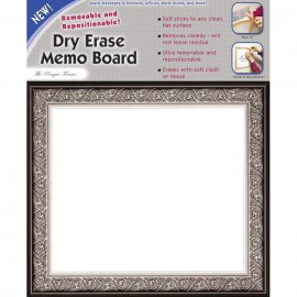 "11 x 9"" Removable/Repostionable Dry Erase Board Prague Frame"