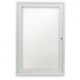 "24 x 36"" Single Door Standard Outdoor Enclosed Dry/Wet Erase Board"