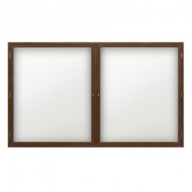 "60 x 36"" Wood Enclosed Dry/Wet Erase Boards"