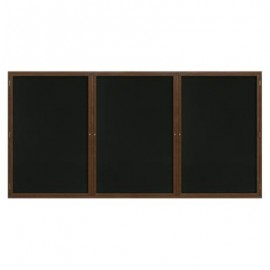 "96 x 48"" Wood Enclosed Dry/Wet Erase Boards"