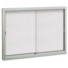 "72 x 36"" Sliding Glass Dry/Wet Erase Boards"