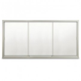 "96 x 48"" Sliding Glass Dry/Wet Erase Boards"