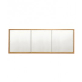"96 x 48"" Wood Sliding Glass Dry/Wet Erase Boards"