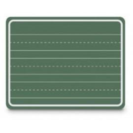3 Penmanship Line Green Chalkboard