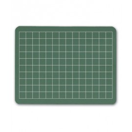 Grid Green Chalkboard