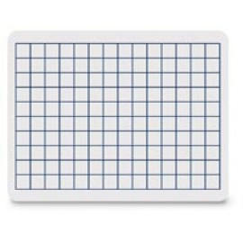 Grid White Dry Erase Board