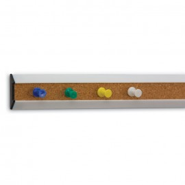 48 Plastic White Framed Corkbars