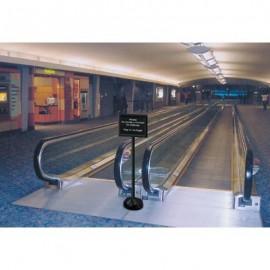 56H Plastic Pedestal Sign