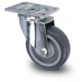 Swivel Replacement Casters for Plastic Basket Trucks