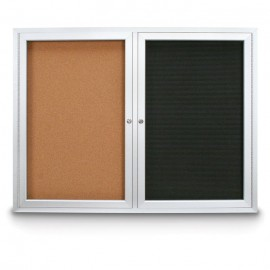 "48 x 36"" Outdoor Enclosed Combo Boards"