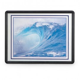 "8 1/2 x 11"" Aluminum SNAP Frame with Lens"