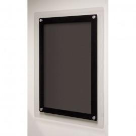 "24 x 36"" Corporate Series Black Wet Erase Board"