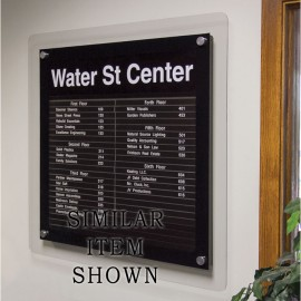 "24 x 36"" Corporate Series Extrusion Directory Board"