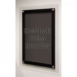 "36 x 36"" Corporate Series Black Wet Erase Board"